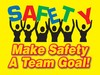 Safety Posters: Safety - Make Safety A Team Goal
